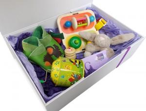 coffret-cadeaux-naissance-boîte-à-trèsor-forêt-enchantée